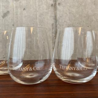 ティファニーのグラス 4個セット
