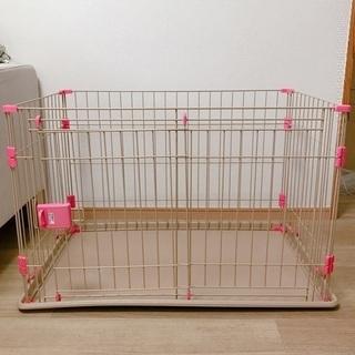 【給水器オマケ】犬用ゲージ 美品