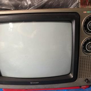 超レトロ SHARPブラウン管テレビ