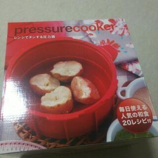 レンジでチンする圧力鍋【美品】