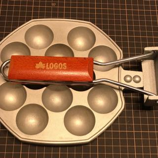 【キャンプ用品】ロゴス たこ焼き器