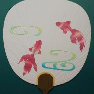 🎆金魚のうちわを作る🎆7月14日(火)