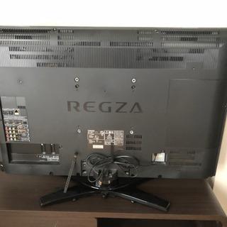 液晶テレビ37型REGZA & テレビ台