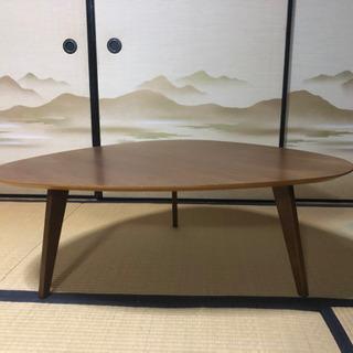 リビングテーブル 三角 ちゃぶ台