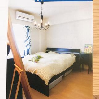 IKEA クイーンサイズ ベッド フレームとマットレス