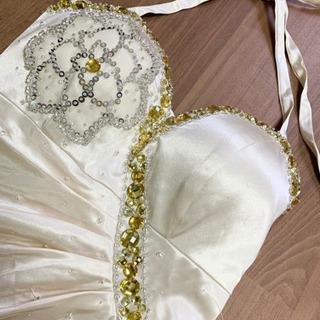 チュール付きドレス キャバ嬢ドレス