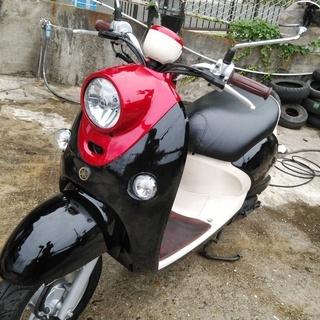 ⭐ヤマハ ビーノFI SA37J 黒/赤 キレイな黒赤のツートン...