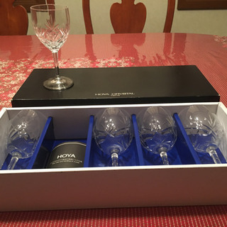 HOYA CRYSTAL ワイングラスセット