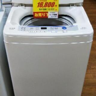 J020★6ヶ月保証★6K洗濯機★AQUA AQW-S60E(W...
