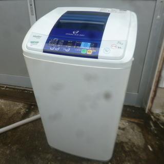 修理必要※洗濯槽回転速度不良 ハイアール 5kg 洗濯機 JW-...