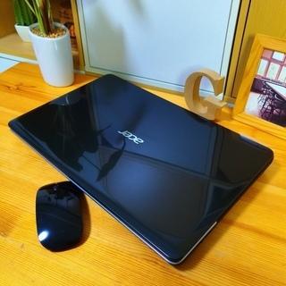高性能corei5のAcer♪ 大容量500G! 薄型軽量で持ち...