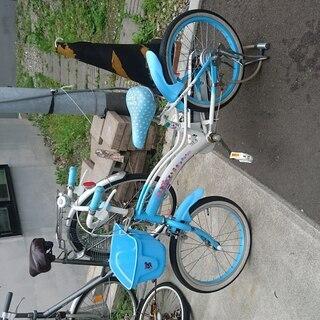 子ども用自転車 ブルー 18インチ