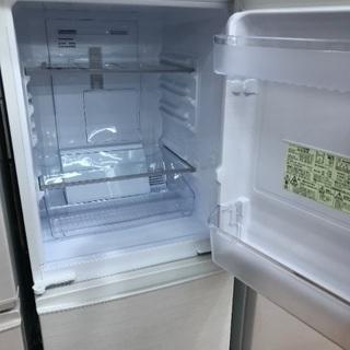 1年保証付き2ドア冷蔵庫 SHARP 2018年モデル