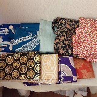 【お取引先決定】【10点 ¥1,500-】着物・帯等 各一点¥300-