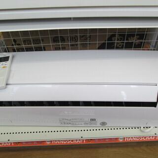 富士通 エアコン AS-B40J-W 2019年式 14畳 中古品