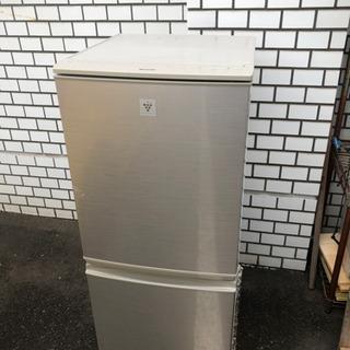 美品 シャープ 2ドア冷蔵庫 2014年 設置配送可能