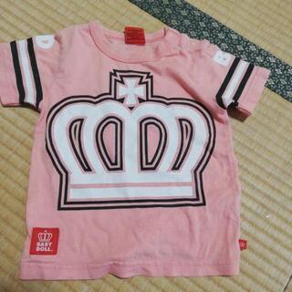 〔サイズ80〕BABYDOLLトップスTシャツ