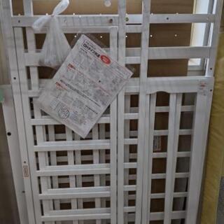 ベビーベット 西松屋 軽量 120×70cm 白 美品💳自社配送...