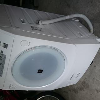 シャープ SHARP ドラム式 洗濯機 ES-V220-AL ...