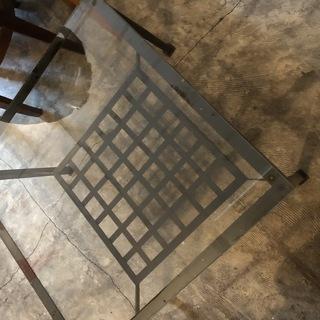 ガラス天板 ローテーブル