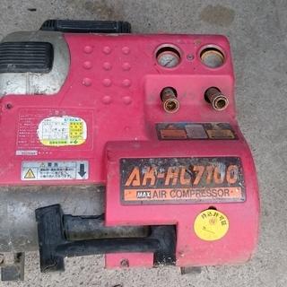 エアコンプレッサー ジャンク 部品取り 2台セット 高圧 …