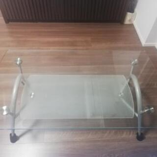 【無料】ガラスローテーブル