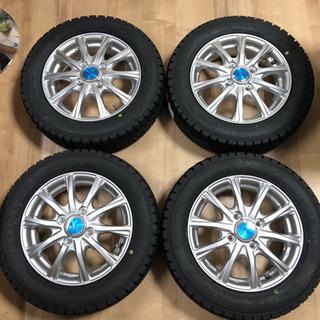 155/65r13 スタッドレスタイヤ4本 タイヤホイール新品 ...