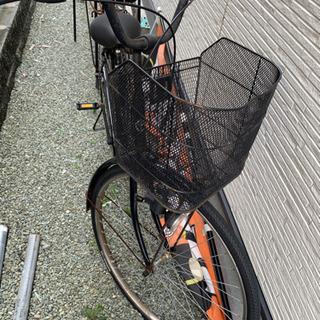 普通の自転車です