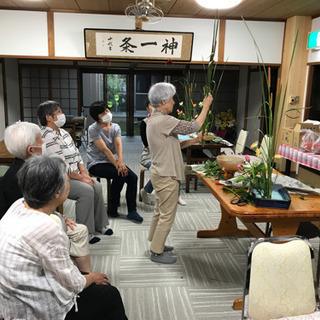 生け花教室 松月堂古流 毎月13日午後1時  参加費一回1000円