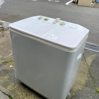 アクア二層式洗濯機2014年製 AQW-N35(H)配達もいたし...