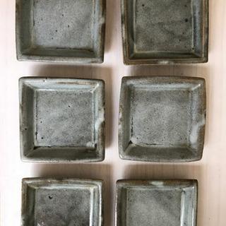 四角形のお皿 6個セット