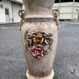 お洒落な花瓶 ツボ アンティーク 🌈 しげん屋