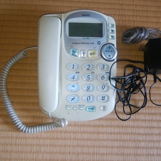 電話機 サンヨー M59