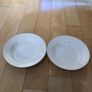148、昭和レトロのお皿  Marumi 2枚