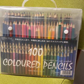 色鉛筆50色2本ずつ入の100本セット