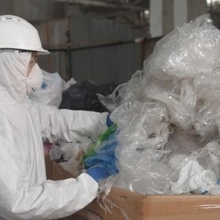 廃品回収のリサイクル倉庫で荷受け・仕分けなど簡単作業♩