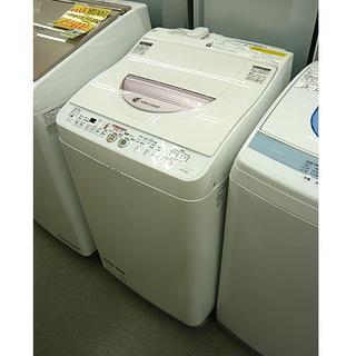ヒーター乾燥機能付き【6.0kg シャープ 洗濯機 2014年製...