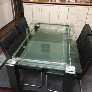 【急募】ダイニングテーブル 4人用 椅子付き