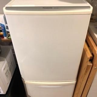 パナソニック 138L 2ドア冷蔵庫