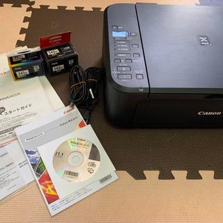 【ジャンク】Canon インクジェットプリンター スキャン可能