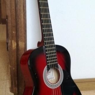 ミニアコースティックギターの画像