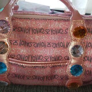 ジャンク品   サボイのボストン型バッグ