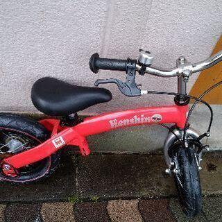 Henshin 12吋キッズバイク(レッド)