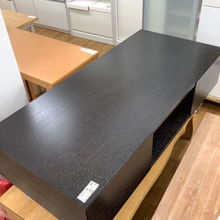 センターテーブル IDC大塚家具 ダークブラウン
