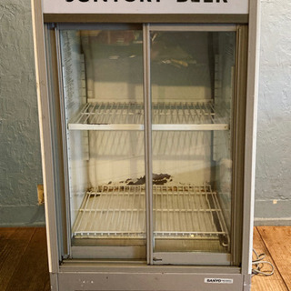 サントリー 冷蔵ショーケース 冷蔵庫 SANYO