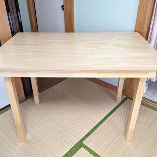大きめ 作業台 作業テーブル 幅約110cm×奥行約70×高さ約...