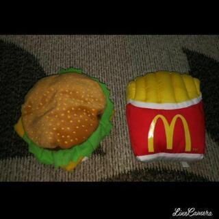 マクドナルド非売品ビックマック、ポテト