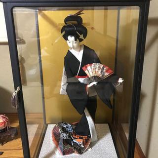日本人形を入れていたガラスケース差し上げます。※人形は付い...