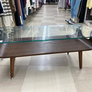 ニトリ ガラスローテーブル ノルディック2