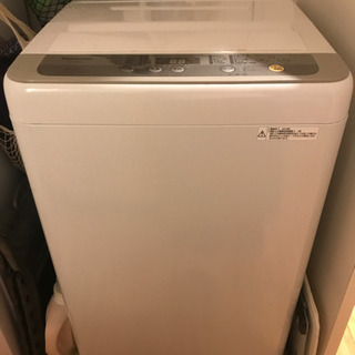 【受取者決定しました】2018年購入 6kg洗濯機 月1で...